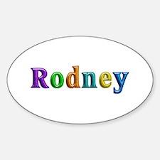 Rodney Shiny Colors Oval Decal