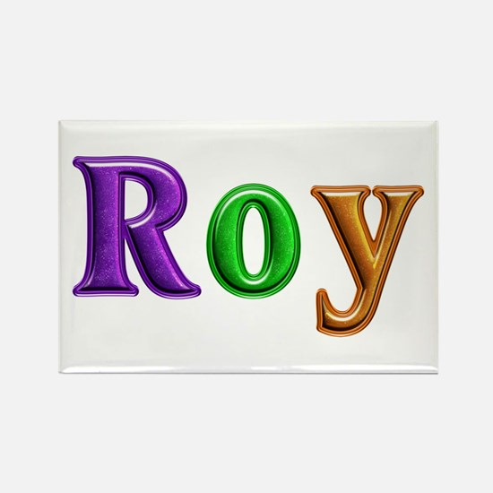 Roy Shiny Colors Rectangle Magnet