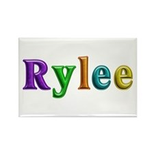 Rylee Shiny Colors Rectangle Magnet