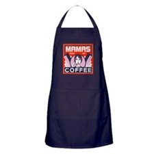 Mamas Fresh Hot Coffee Apron (dark)