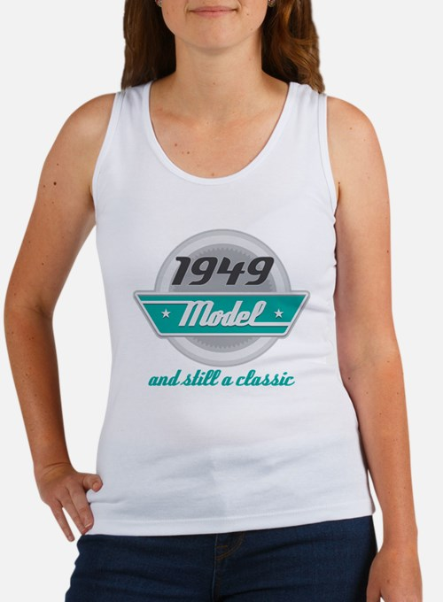 1949 Birthday Vintage Chrome Women's Tank Top