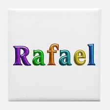 Rafael Shiny Colors Tile Coaster
