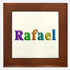 Rafael Shiny Colors Framed Tile