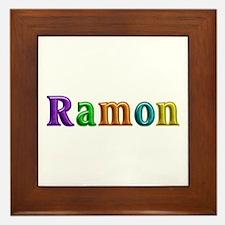 Ramon Shiny Colors Framed Tile