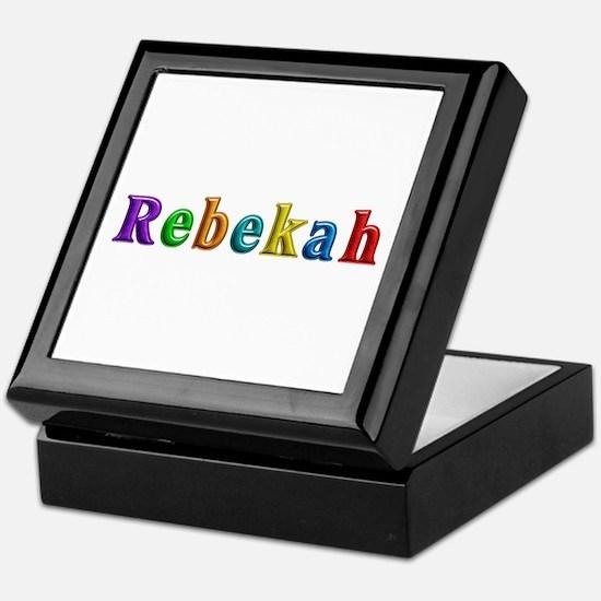 Rebekah Shiny Colors Keepsake Box