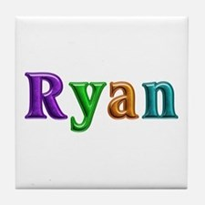 Ryan Shiny Colors Tile Coaster