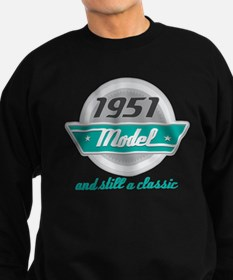 1951 Birthday Vintage Chrome Sweatshirt