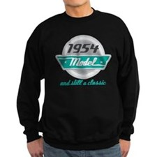 1954 Birthday Vintage Chrome Sweatshirt