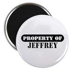Property of Jeffrey Magnet