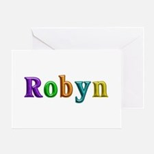 Robyn Shiny Colors Greeting Card