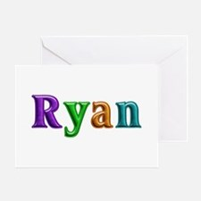 Ryan Shiny Colors Greeting Card
