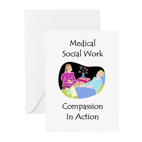 Medical Social Work Greeting Cards (Pk of 10)