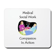 Medical Social Work Mousepad