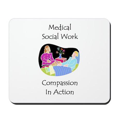 Medical Social Work Mousepad