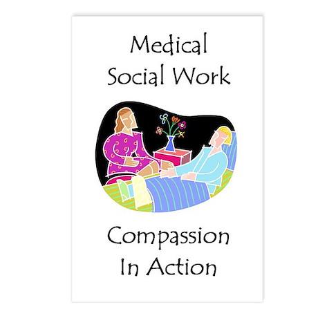 Medical Social Work Postcards (Package of 8)