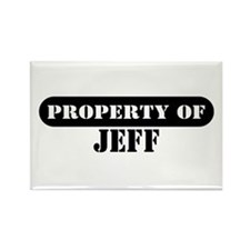 Property of Jeff Rectangle Magnet