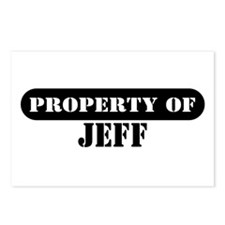 Property of Jeff Postcards (Package of 8)