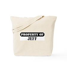 Property of Jeff Tote Bag