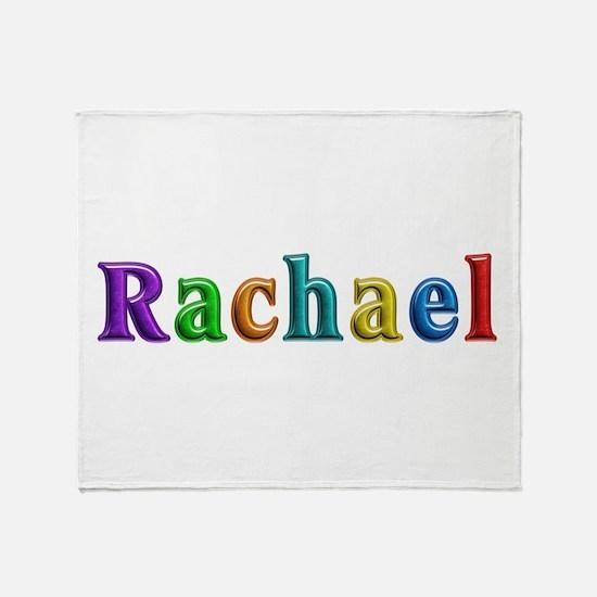 Rachael Shiny Colors Throw Blanket