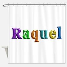 Raquel Shiny Colors Shower Curtain