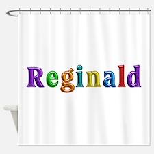 Reginald Shiny Colors Shower Curtain