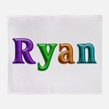 Ryan Shiny Colors Throw Blanket