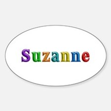 Suzanne Shiny Colors Oval Decal