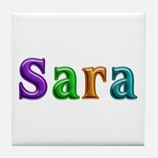 Sara Shiny Colors Tile Coaster