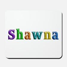 Shawna Shiny Colors Mousepad