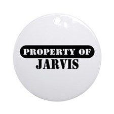 Property of Jarvis Ornament (Round)