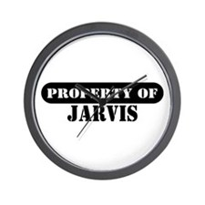 Property of Jarvis Wall Clock