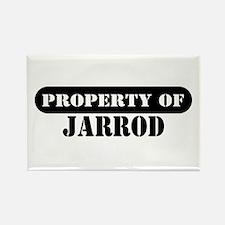 Property of Jarrod Rectangle Magnet