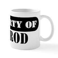 Property of Jarrod Mug