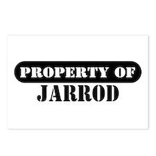Property of Jarrod Postcards (Package of 8)