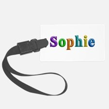 Sophie Shiny Colors Luggage Tag