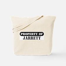 Property of Jarrett Tote Bag