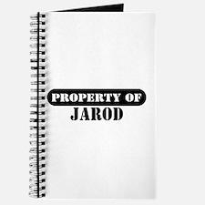 Property of Jarod Journal