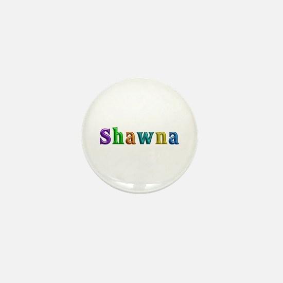 Shawna Shiny Colors Mini Button