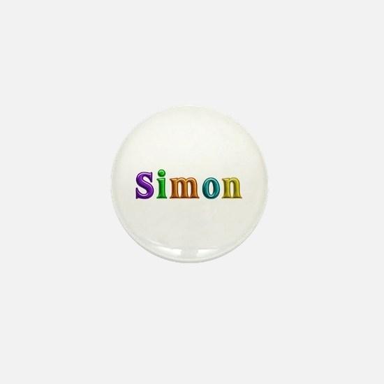 Simon Shiny Colors Mini Button
