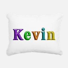 Kevin Shiny Colors Rectangular Canvas Pillow