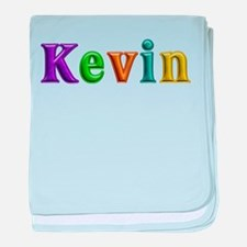 Kevin Shiny Colors baby blanket