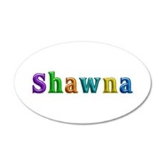 Shawna Shiny Colors Wall Decal