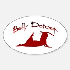 Sword dancer Oval Decal
