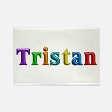 Tristan Shiny Colors Rectangle Magnet