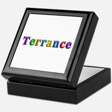 Terrance Shiny Colors Keepsake Box