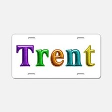 Trent Shiny Colors Aluminum License Plate