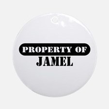 Property of Jamel Ornament (Round)