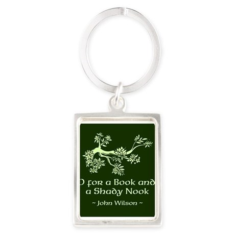 O for a Book Keychains