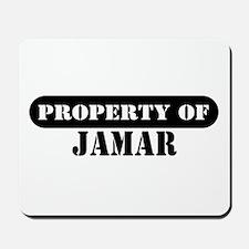 Property of Jamar Mousepad