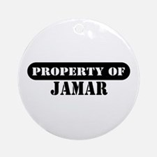 Property of Jamar Ornament (Round)